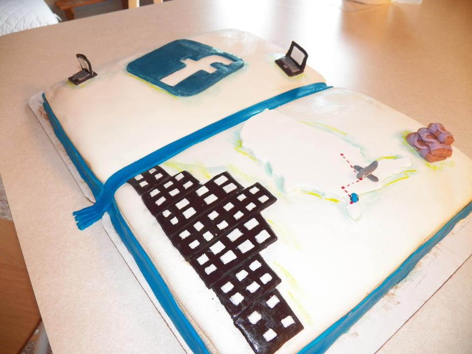 Facebook Cake Symbol