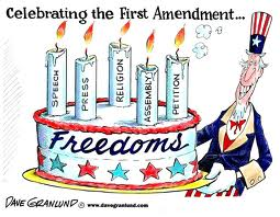 the first amendment is a celebration of the thinker, the dreamer, the artist, the prayerful.