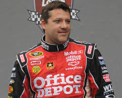 tony stewart ran over and killed racer kevin hart as hart walked out onto the track to confront stewart.  prior to this incident, stewart was known as an aggressive driver but offtrack was considered a teddy bear.