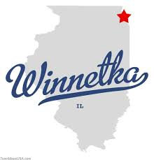 big shout out to winnetka, illinois which was my home for close to a quarter century!